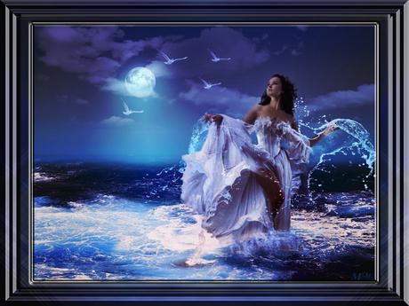 Splash Artwork framed