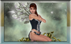 Sweet Elve Artwork framed