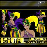 T-SQ~Beautiful Jester~ Mardi Gras Colors