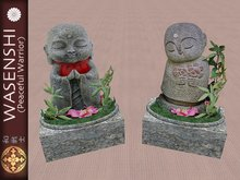 Baby Buddha statues for in your garden