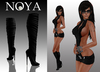 **NOYA** PROMO Serum Black Dress with Boots