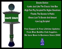 ** SALE ONLY 188L!!!** Donation Station Donate Box