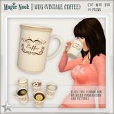 [MAGIC NOOK] Mug (Vintage Coffee)