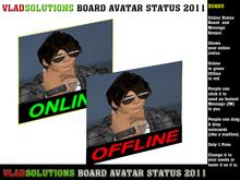 Board Avatar Status OnLine OffLine V1 (MODY AND TRANSFER)