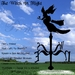 *PV* Witch In Flight Weather Vane