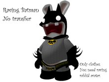 Raving rabbid Batman (lapin cretin)