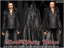 .::BloodThirsty Prince outfit by Casa Diabolica::.