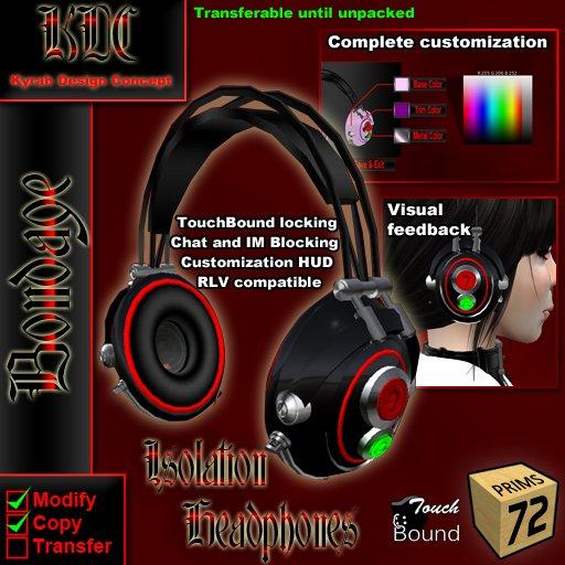 KDC Isolation Kopfhörer