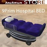 Blue Hospital Bed