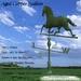 *PV* Aged Copper Stallion Weather Vane