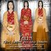 Falln Mens Kimono Red Gold Dragons