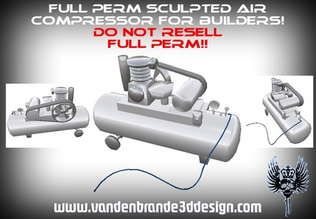 ~Full perm air compressor low prims + Maps!