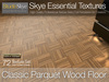 Classic Parquet Wood Floor - Skye Essential - 72 Full Perms Parquet Floor Textures