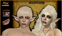 Vampire Elf Ears set - Qualin