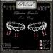 Beloved Jewelry : Valentina Bracelets (Platinum Gold Metal/Stone Change)