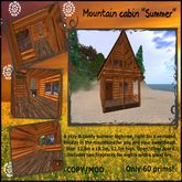 "Mountain Cabin - ""Summer"" - (BOXED)"