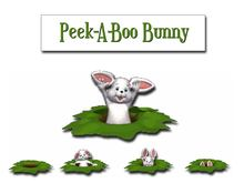 Peek-A Boo Bunny - Animated - Surprising - Adorable