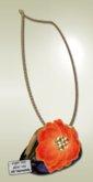 [ glow ] studio - Orange Garden clutch bag