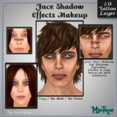Face Shadow Effects Makeup - Unisex Makeup Tattoo