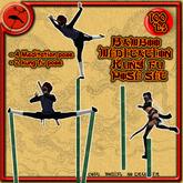 Bamboo Meditation & Kung Fu pose set >>Tokuno Wind<<