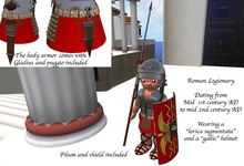 Tiny ioumane Roman legionnary 1st AD