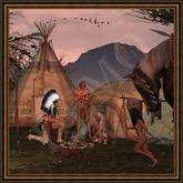 "American Native Art ""Morning Sight II"""