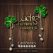 EarthStones Lucky Shamrock Earrings - Gold (Box)