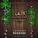EarthStones Lucky Shamrock Necklace - Silver (Box)