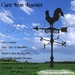 *PV* Cast Iron Rooster Weather Vane