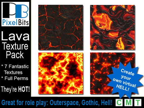 Lava Texture Pack - Full Perm