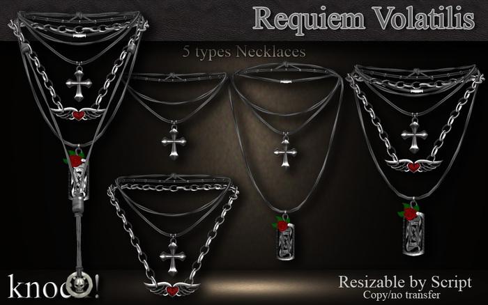 :: Knock! :: Requiem Volatilis :: Necklaces