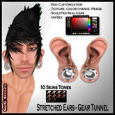 *GD* - Ear Stretched - Gear Tunnel
