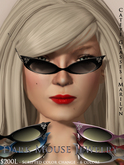 Dark Mouse Cateye Glasses - Marilyn