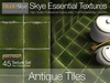 Antique Glazed Tiles - Skye Essential - 45 Full Perms Textures