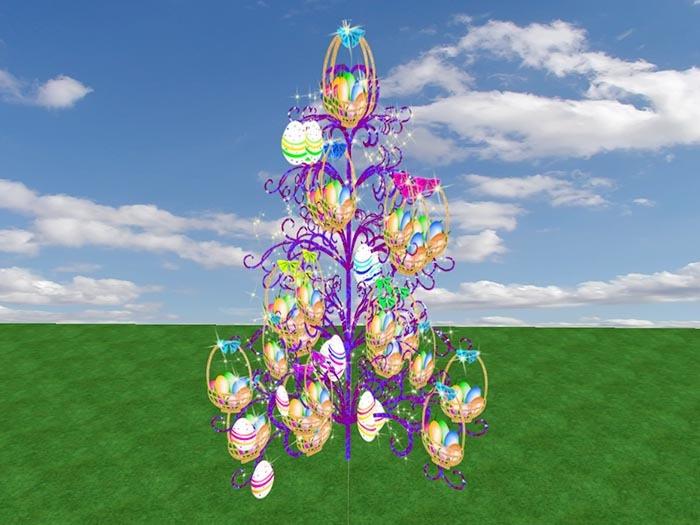 Easter Nest Tree