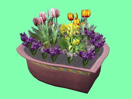 plant bowl 2 (only 6 prims!)