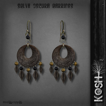 KOSH - SELVA OSCURA EARRINGS