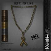 KOSH- RIBBON NECKLACE