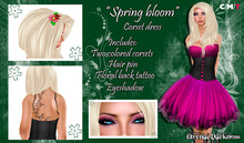 "::ED:: ""Spring bloom"" Pink Corset dress"