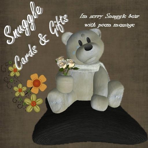 'Snuggle' Im sorry bear
