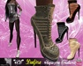 **SD**-DADJNA Elegant  Heel Boots Stiletto (Full Option)