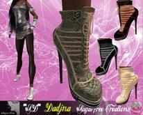 **SD**-DADJNA Elegant  Heel Boots Stiletto (Full Option)