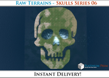 50% OFF SALE! RAW Terrain File: Skulls