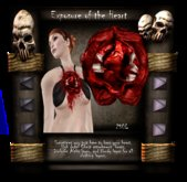 [LH] Exposure of the Heart - Bloody Heart Chest attachment that beats. Morbid Gore for the Gruesome Lover.