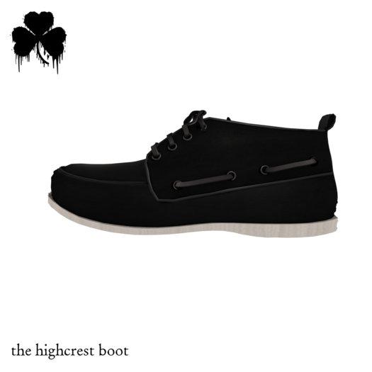 *FIR & MNA* The Highcrest Boots Black