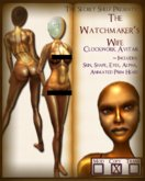 The Watchmakers Wife- SteamPunk Robot/Android Avitar