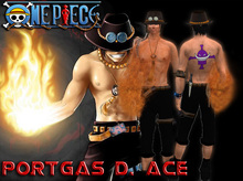 One Piece - Portgas D Ace Full Avatar