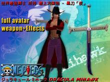 One-Piece Dracula Mihawk Full Avatar