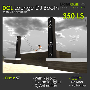 *** DCL Lounge Dj Booth - with dance platforms