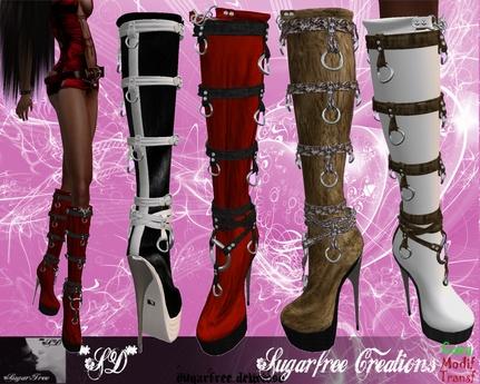 **SD**-PATTJ Miss Heel Boots Stiletto (Full Colors)